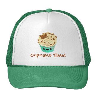Cute Vanilla Chocolate Cupcake Trucker Hats