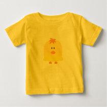 Cute Vector Art of Baby Chicken Baby T-Shirt