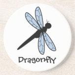 Cute Vector Dragonfly Coasters
