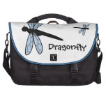 Cute Vector Dragonfly Commuter Bags