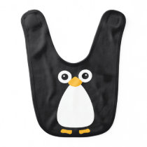 Cute Vector Penguin Bib