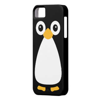 Cute Vector Penguin iPhone 5 Covers