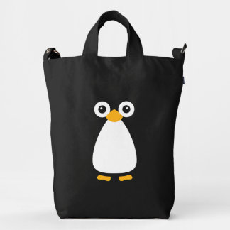 Cute Vector Penguin Duck Bag