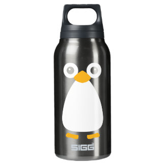 Cute Vector Penguin Insulated Water Bottle