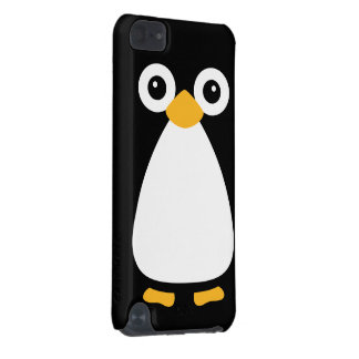 Cute Vector Penguin iPod Touch 5G Case