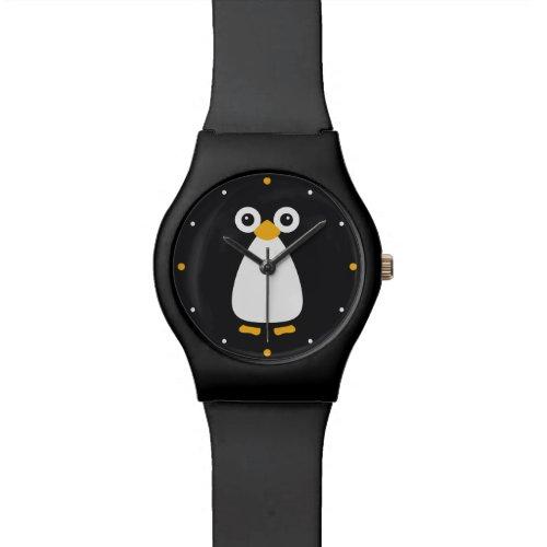 Cute Vector Penguin Wrist Watch