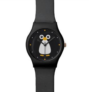 Cute Vector Penguin Wristwatches