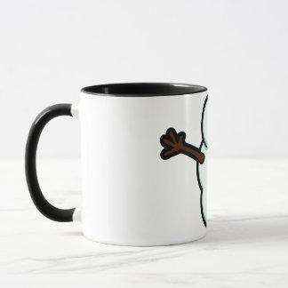 Cute Vector Snowman - Color Mug
