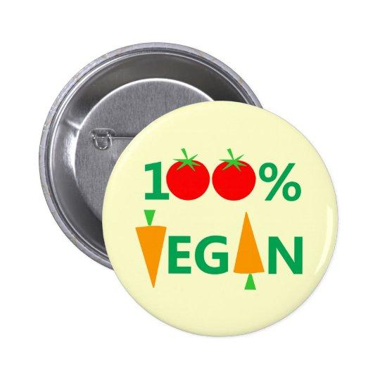 Cute Vegan Badge or Button