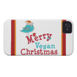 Cute Vegan Christmas Gifts Case-Mate iPhone 4 Cases