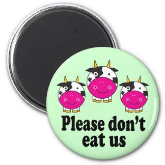 Cute Vegan Cows magnet