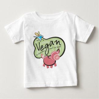 Cute Vegan Message Baby T-Shirt