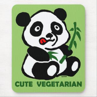 cute vegetarian mouse pad
