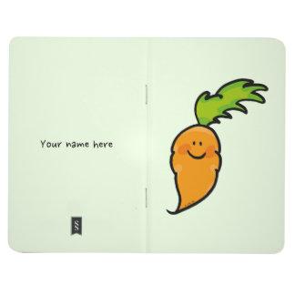 cute veggie carrot journal