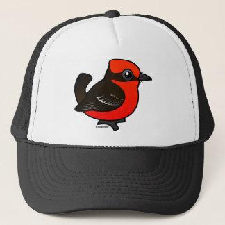 Cute Vermilion Flycatcher Trucker Hat