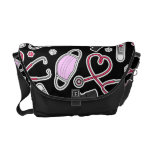 Cute Veterinarian / Veterinary Technician Love Courier Bag