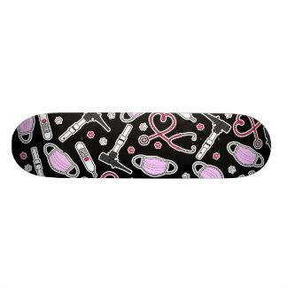 Cute Veterinarian / Veterinary Technician Love Skateboard Deck