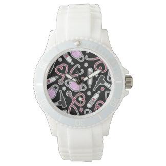 Cute Veterinarian / Veterinary Technician Love Wristwatches