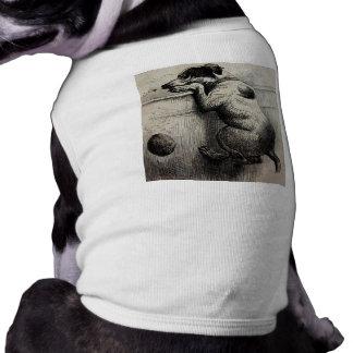 Cute Victorian antique Dog illustration Shirt