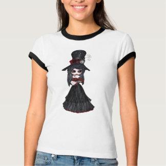 Cute Victorian Steampunk Goth Girl T-Shirt