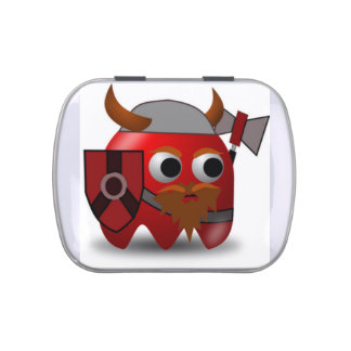 Cute Viking Jelly Belly Tins