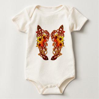 cute vine butterfly wing of love baby bodysuit