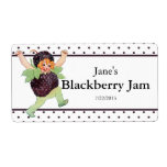 Cute Vintage Blackberry Jam Shipping Labels