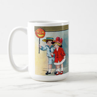 Cute Vintage Children Halloween Mug