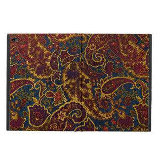 Cute vintage dark brown paisley design powis iPad air 2 case