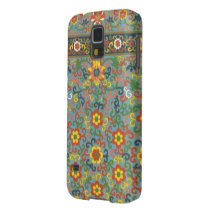 Cute Vintage Floral Pattern Galaxy S5 Case