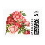 cute vintage floral,roses stamps