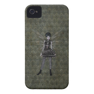 Cute Vintage Gothic Fairy iPhone 4 Cover