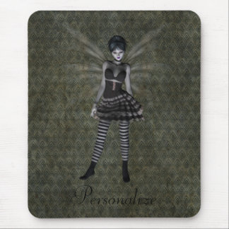 Cute Vintage Gothic Fairy Personalized Mouse Pad