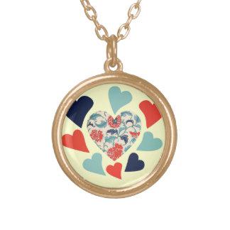 Cute Vintage Hearts Pendants