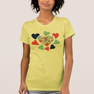 Cute Vintage Hearts T-shirts