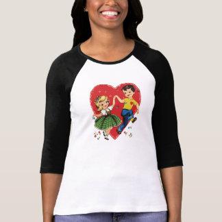 Cute vintage kids Valentine T-Shirt