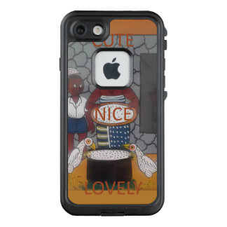 Cute Vintage latest African Style LifeProof FRĒ iPhone 7 Case