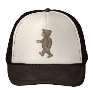 Cute Vintage Marching Teddy Bears Hat