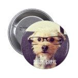 Cute Vintage Morkie Photo Pin