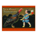 Cute Vintage Thanksgiving Cards Post Cards
