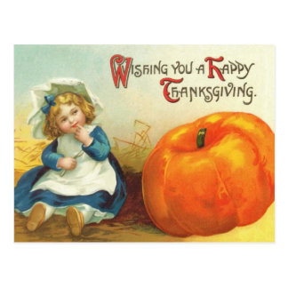 Cute Vintage Thanksgiving Postcards