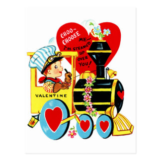 Cute Vintage Valentine's Day Postcard