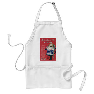 Cute Vintage WWI Coffee Can Adult Apron