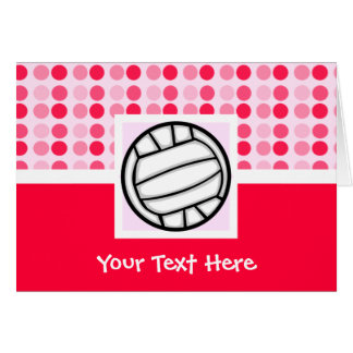 Cute Volleyball Greeting Cards