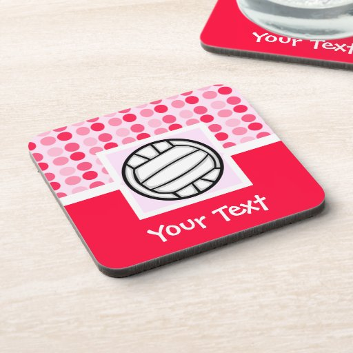 Cute Volleyball Drink Coaster