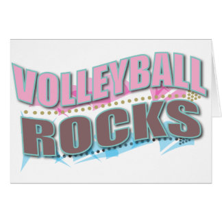 Cute Volleyball Gifts for Volleyball Players Card