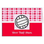 Cute Volleyball Greeting Card