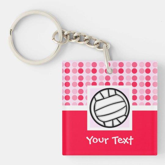 Cute Volleyball Keychain
