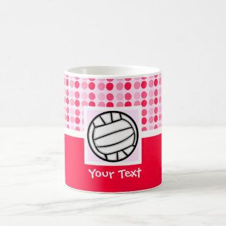 Cute Volleyball Classic White Coffee Mug