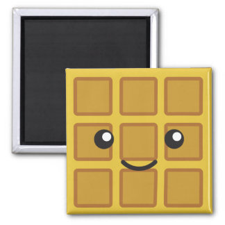 Cute Waffle Magnet